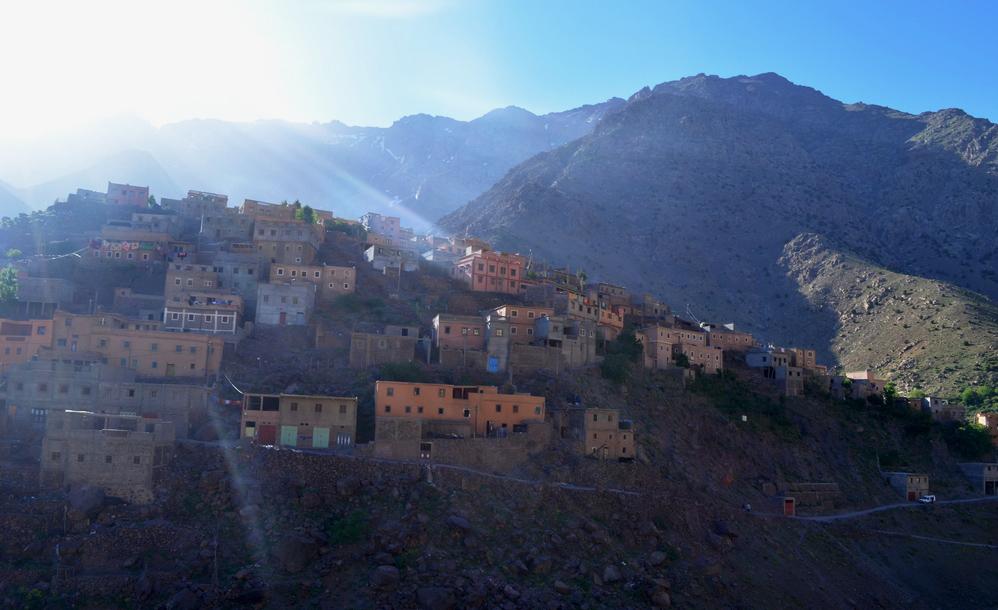 Imlil - marokansko selo na pola puta do osvajanja Atlasa