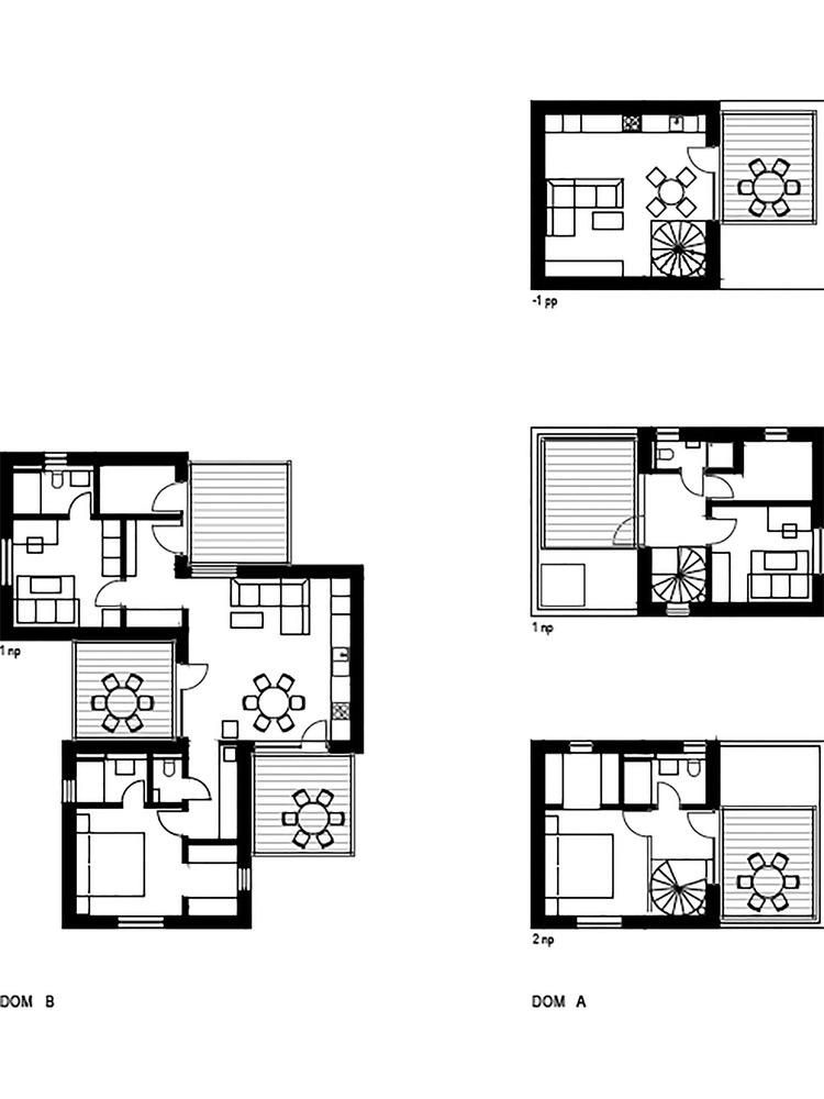 Porodične kuće pored jezera - 3x3 kocka do kocke (6)