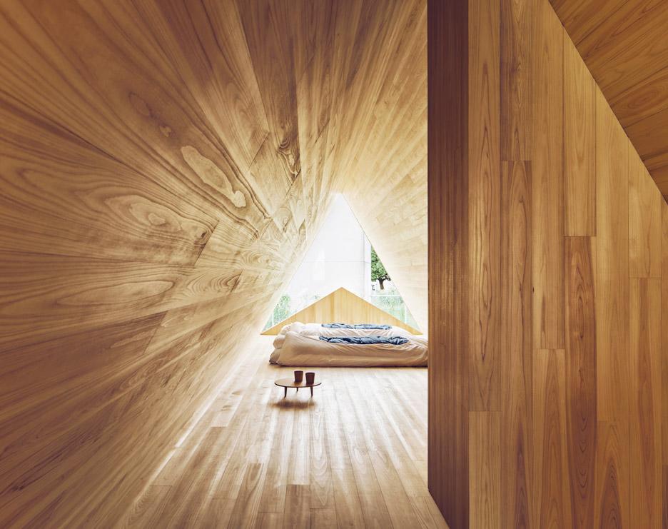 Kuća od japanskpg kedra