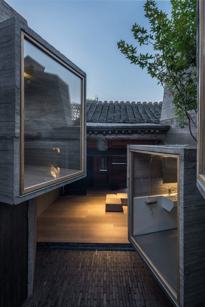 Betonski MIKRO hostel u centru jednog pekinškog hutonga