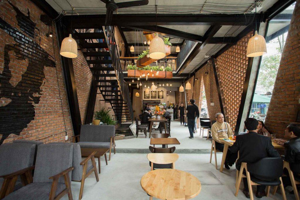 MU'A kafe-restoran čelične noseće konstrukcije