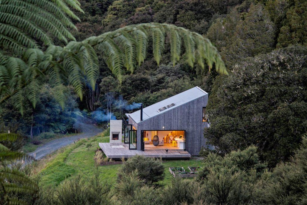Porodična kuća - luksuzna koliba skrivena u šumama Novog Zelanda