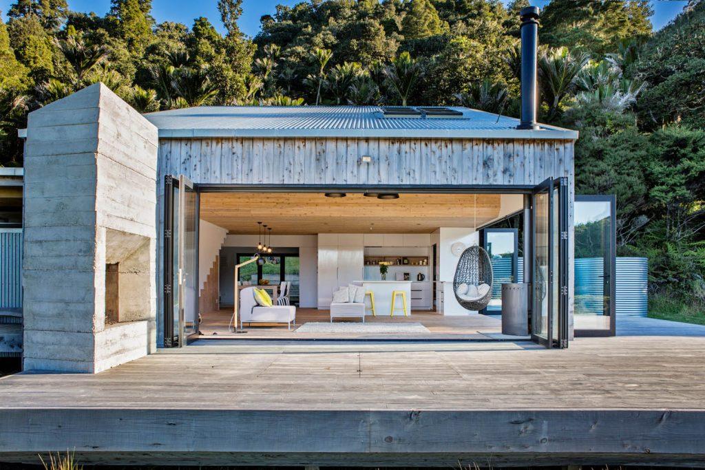 Porodična kuća - luksuzna koliba skrivena u šumama Novog Zelanda (