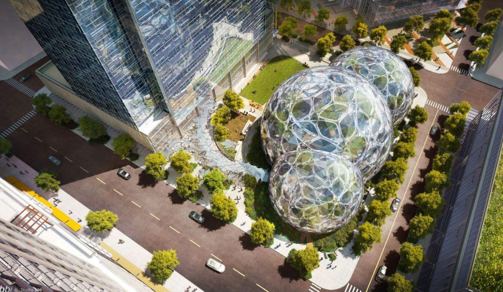 šProjekat Sfere otvoren u Amazonovom središtu u Sijetlu