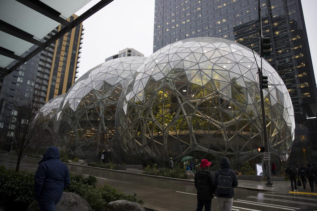 Projekat Sfere otvoren u Amazonovom središtu u Sijetlu